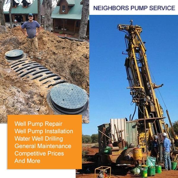 Well Drilling & Well Pump Services in Jasper, GA.